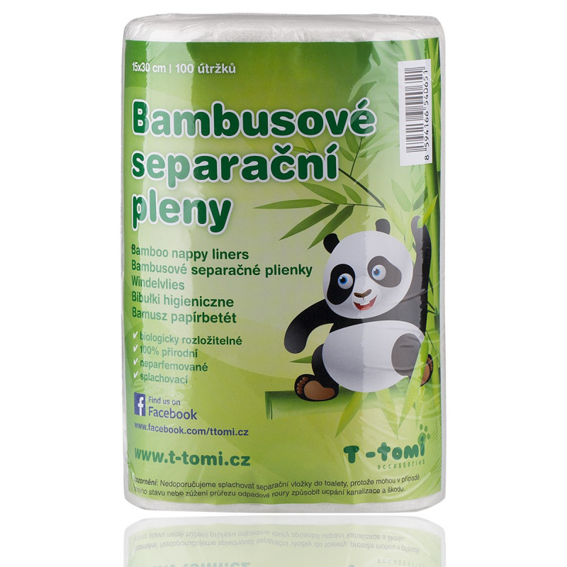 Bamboo separation diapers