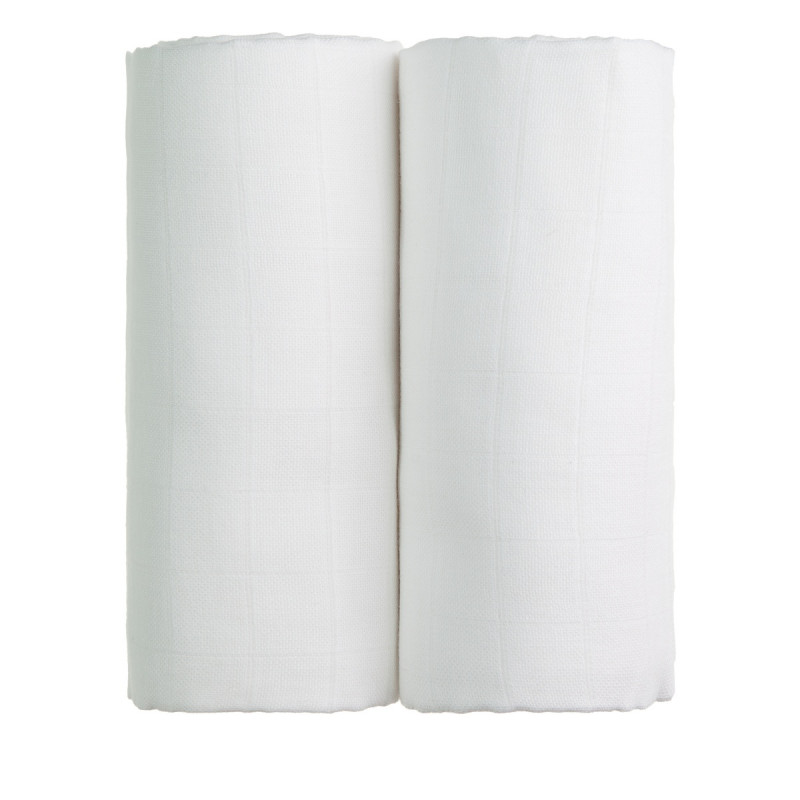 Cloth towels TETRA EXCLUSIVE COLLECTION, 2x white
